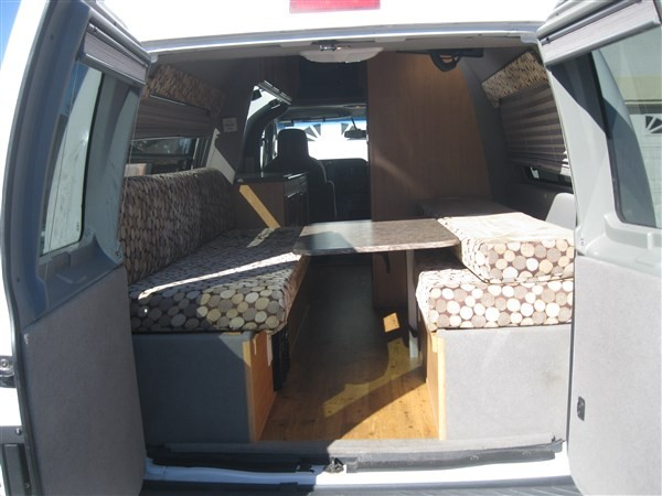 ford majestic tourer back seats and table