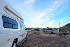 Quartzsite Convergence 2017 Xscapers parking