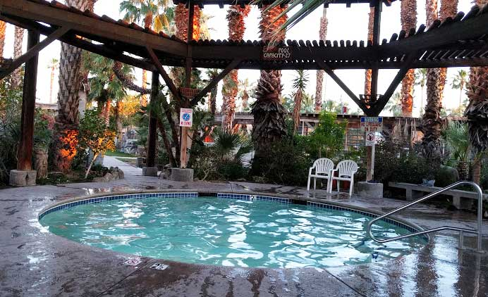 hot tub in rv parks