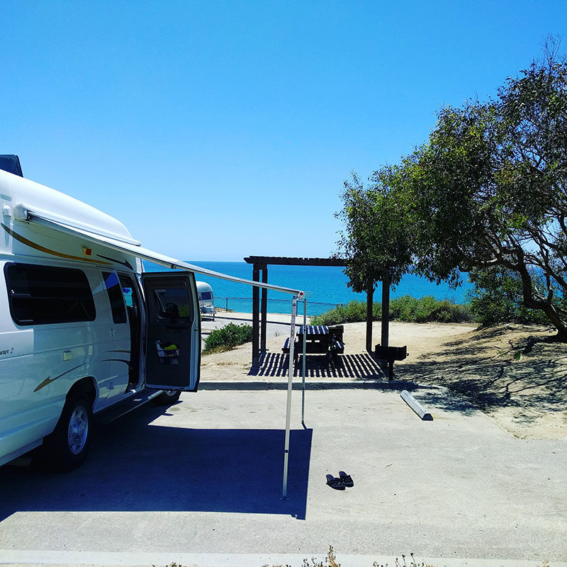 San Clemente State Park Camping