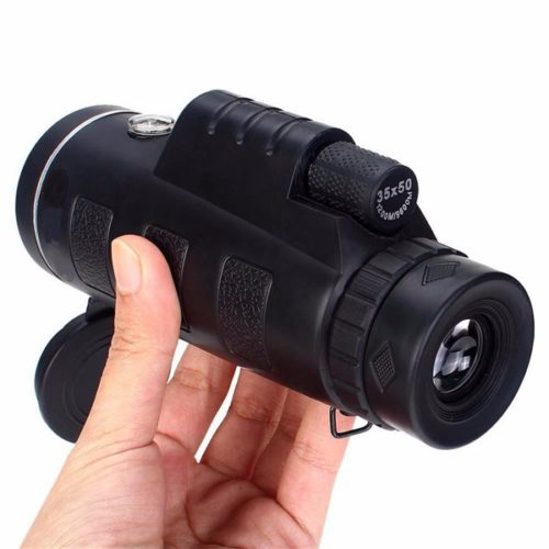 Travel Portable Optical Prism Monocular Telescope with Tripod