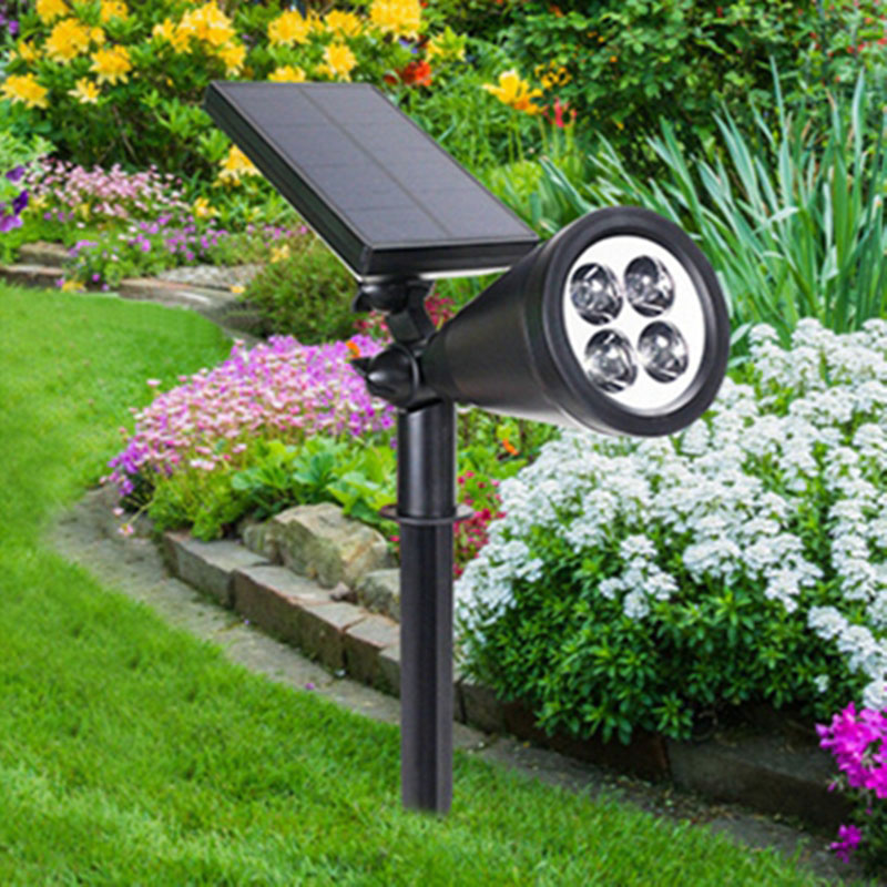 led solar light outdoor security lamp perfect for