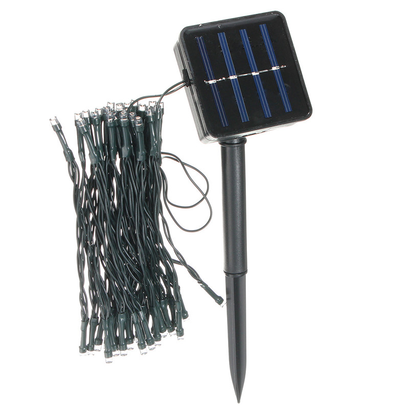 Solar Powered LED String Light - RVing And Camping