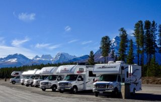 RVing the yellowstone