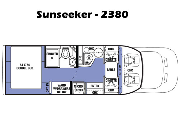 sunseeker layout