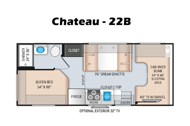 Chateau Layout
