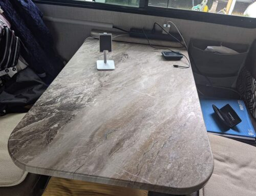 Refresh Your RV Table With This Quick Epoxy DIY